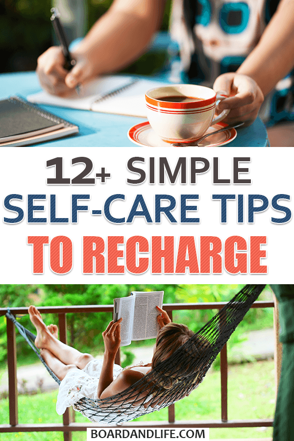 Simple self-care tips