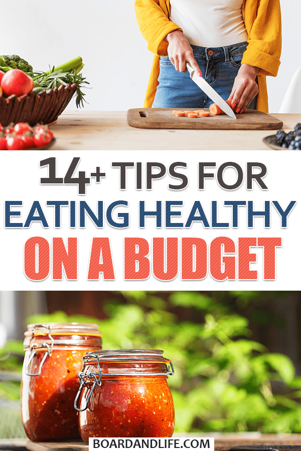 Tips for eating healthy on a budget