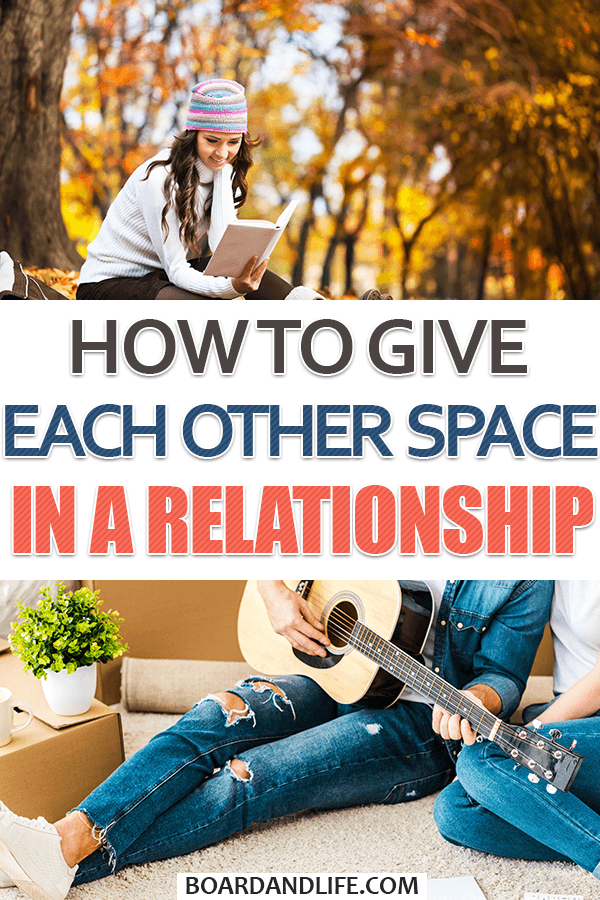 How to give each other space in a relationship