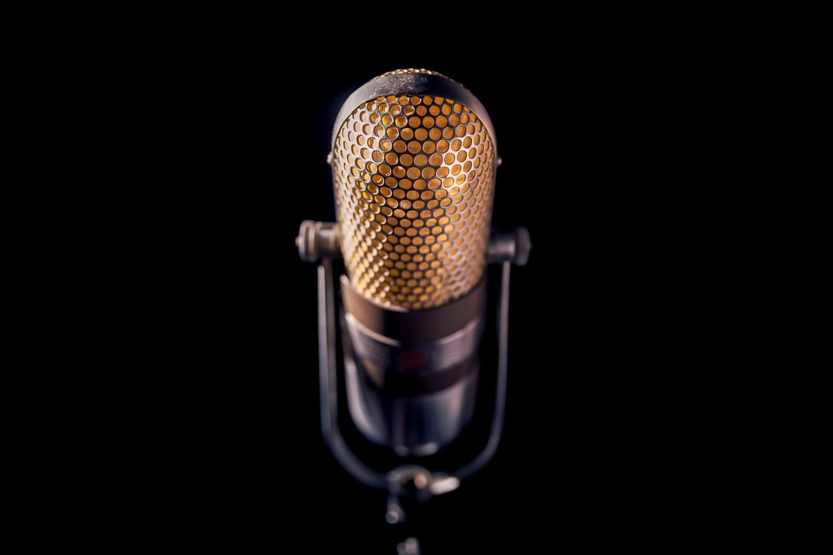 microphone with black background rap quotes about life