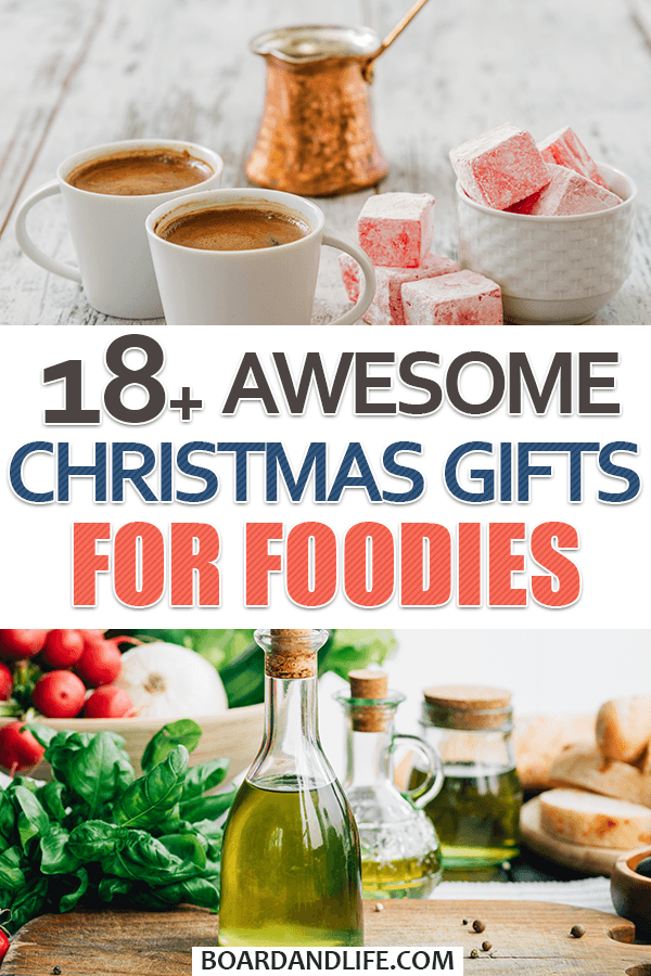Awesome Christmas Gifts For Foodies Pin
