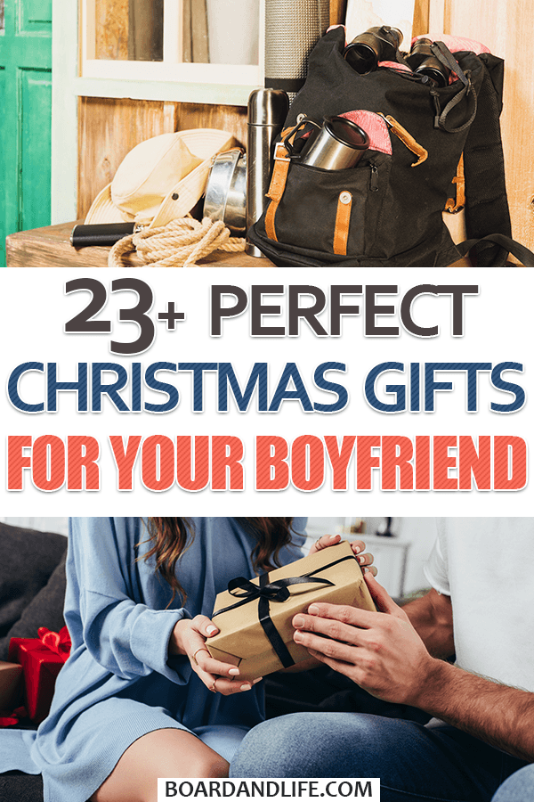 Perfect Christmas Gifts For Your Boyfriend Pin