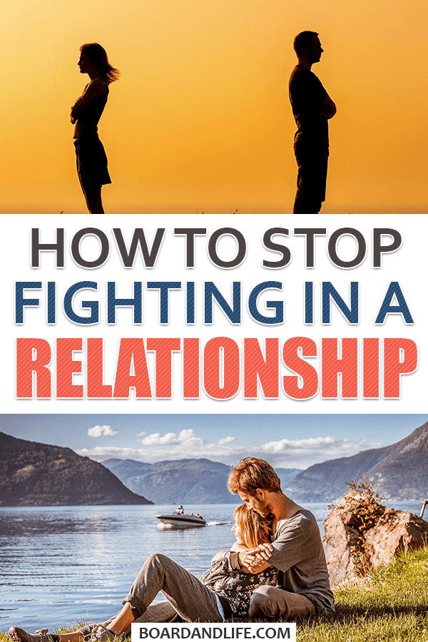 How to stop fighting in a relationship pin