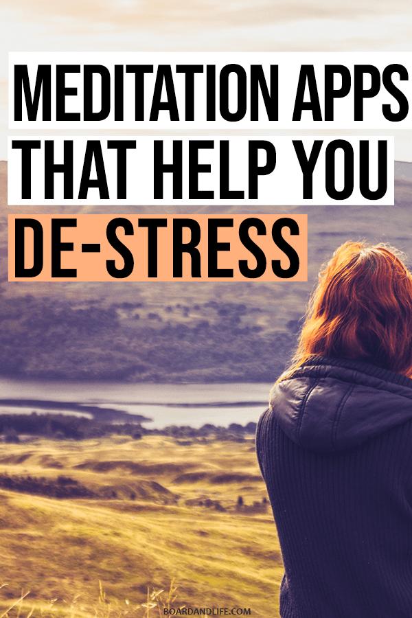 Meditation Apps that help you de-stress