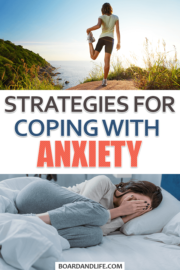 Coping strategies for anxiety to use on a daily basis pin
